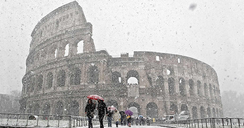 Snowmageddon all'italiana